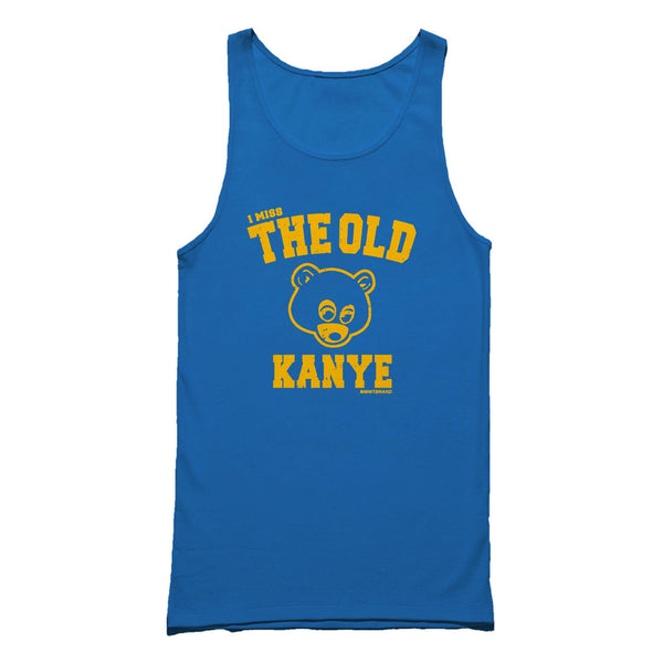 Kanye West I Miss The Old Kanye Hip Hop Kim Kardashian Kendrick Lamar J Cole Drake Jay Z Notorious Big Tupac Tank Top