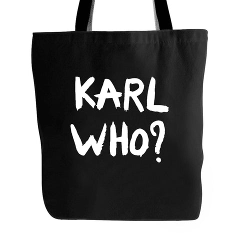 Karl Who Logo Tote Bag
