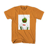 Kermit The Frog X Supreme Sneaker ArtWork Man's T-Shirt
