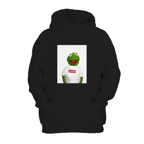 Kermit The Frog X Supreme Sneaker ArtWork Hoodie