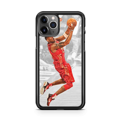 Kobe Bryant Dunk Red Jersey iPhone 11 Pro Max Case