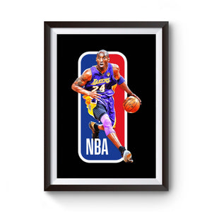 Kobe Bryant La Lakers Nba Jersey Supreme Off White Black Mamba Poster