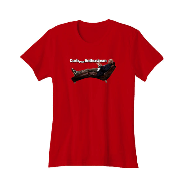 Larry David Curb Your Enthusiasm Seinfeld Fan Women's T-Shirt