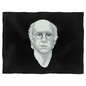 Larry David Gesture Curb Your Enthusiasm Seinfeld Art Blanket
