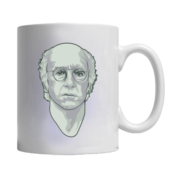 Larry David Gesture Curb Your Enthusiasm Seinfeld Art Mug
