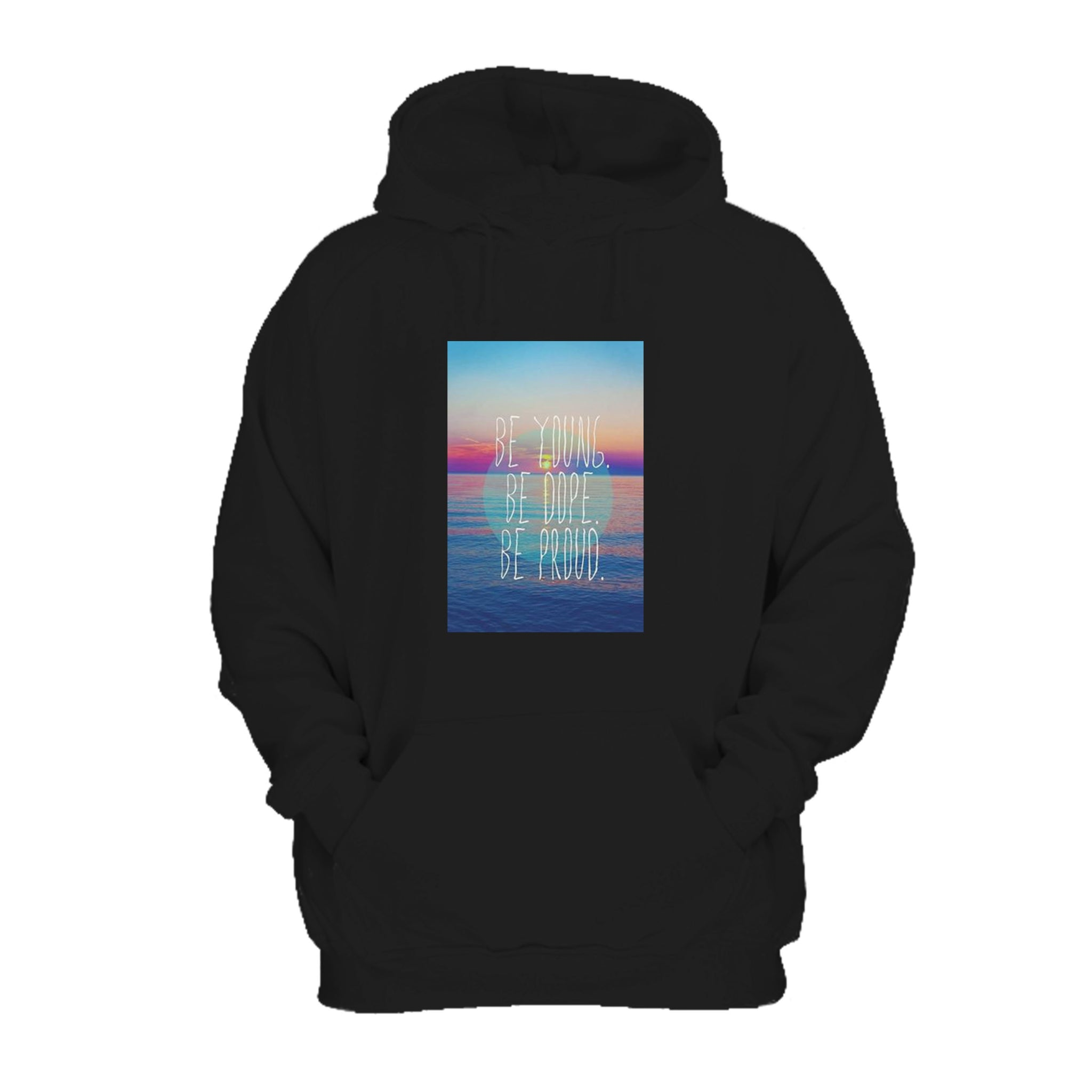 Like An American Lyrics Be Young Be Dope Be Proud Hoodie