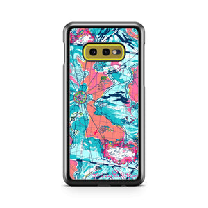 Lilly Pulitzer Map Samsung Galaxy S10 Case