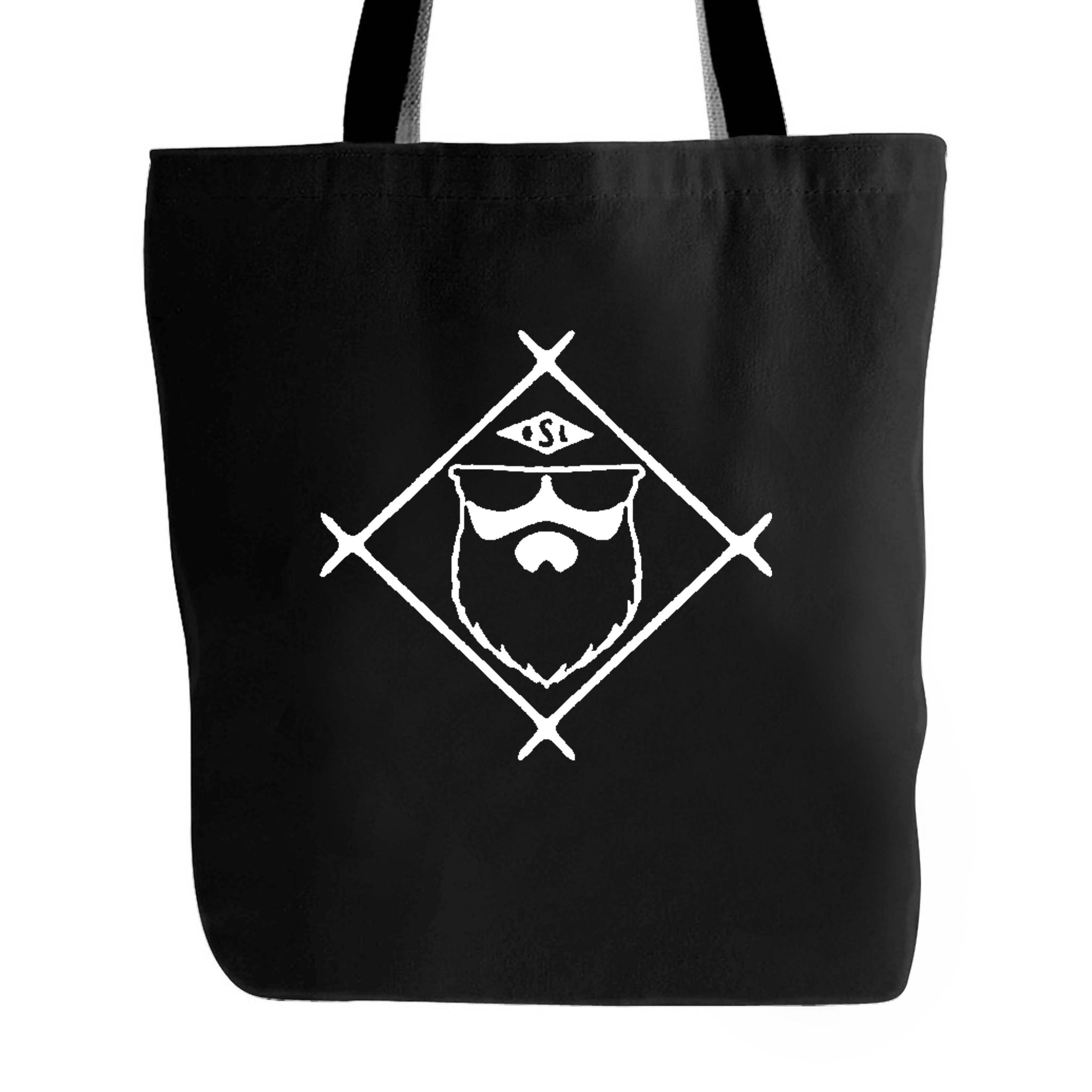 Live Bearded Shave Life Beard Co Brand Tote Bag