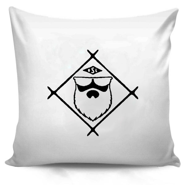 Live Bearded Shave Life Beard Co Brand Pillow Case Cover