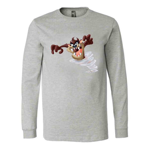 Looney Tunes Tazmanian Devil Long Sleeve T-Shirt