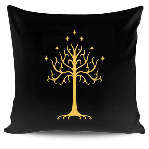 Lord Of The Rings Arwen Evenstar Aragorn White Tree Of Gondor Signs Pillow Case Cover