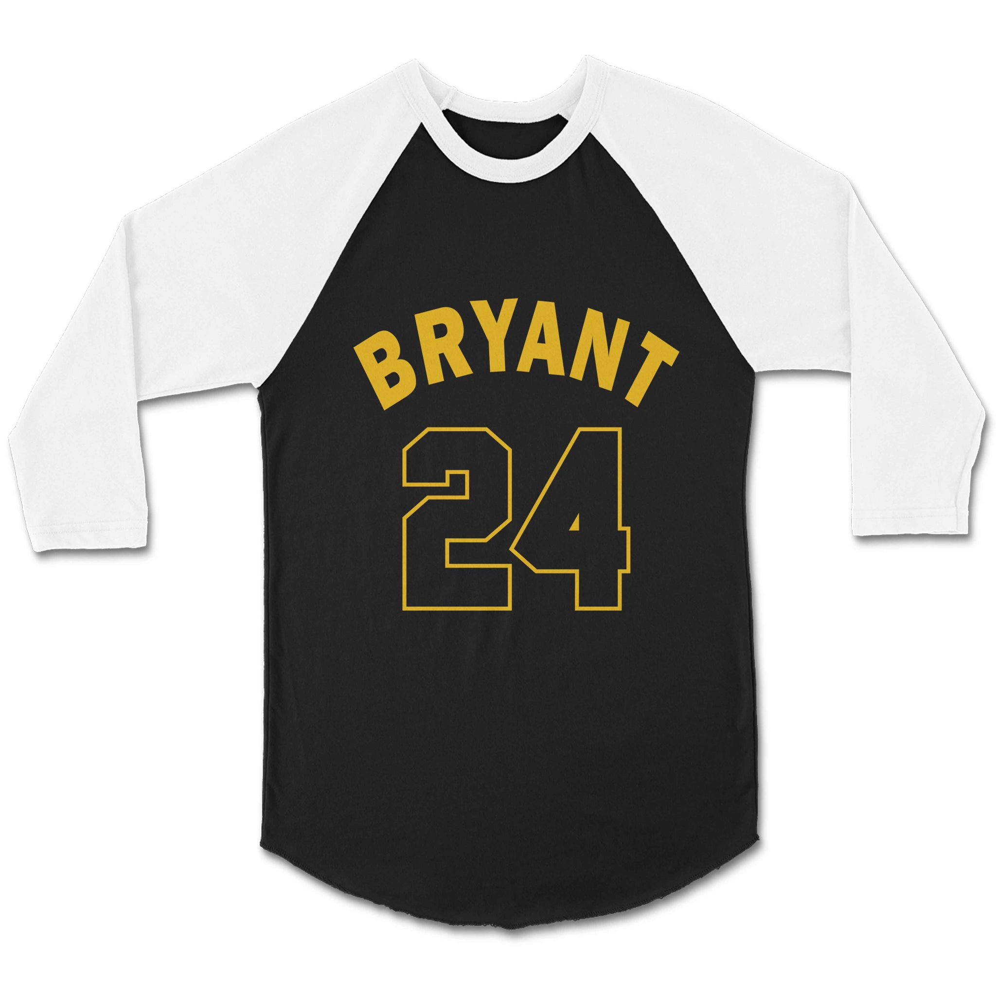 Los Angeles La Laker Legend Kobe Bryant Retiring 24 Jersey Numbers Unisex 3/4 Sleeve Baseball Tee T-Shirt