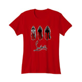 Louboutin Shoes Graphic Parody Designer Fun Women's T-Shirt