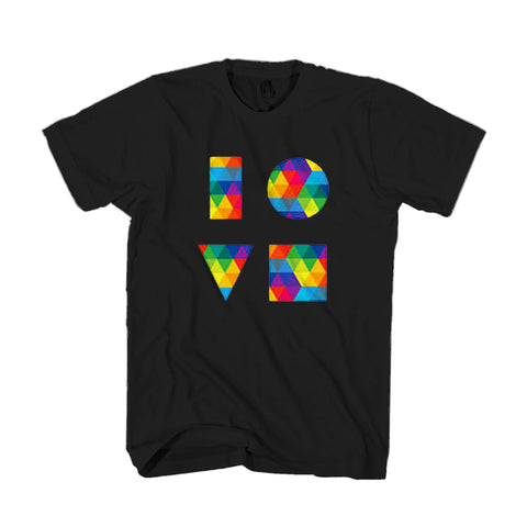 Love Jason Mraz Pride Colors Man's T-Shirt