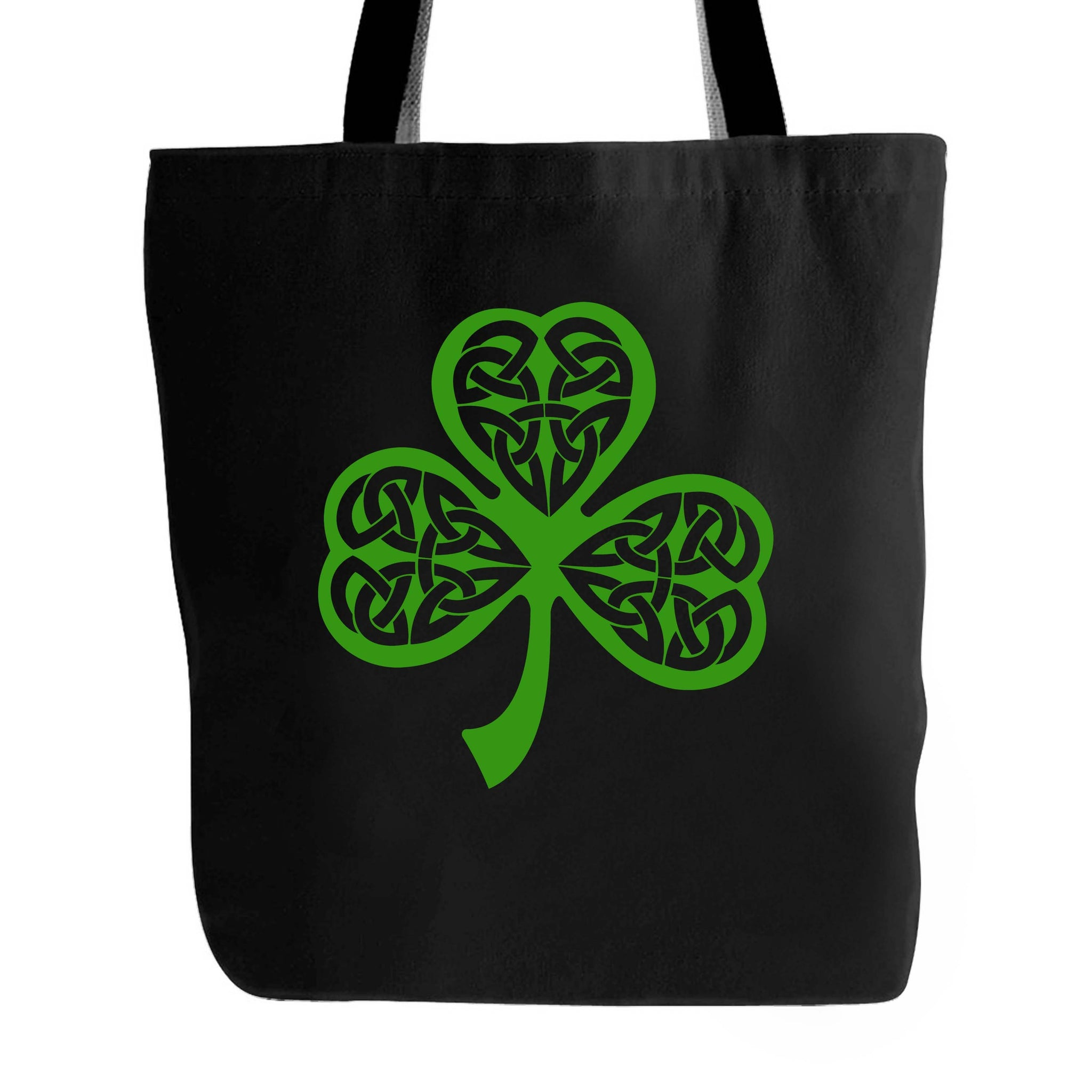 Lucky St Patricks Day Shamrock Clover Birthday Gift Tote Bag