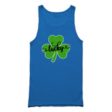 Lucky St Patricks Day Shamrock Clover Logo Birthday Gift Tank Top