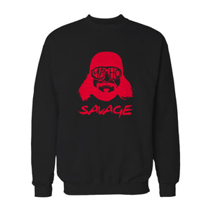 Macho Man Randy Savage Wwf Wrestling Sweatshirt