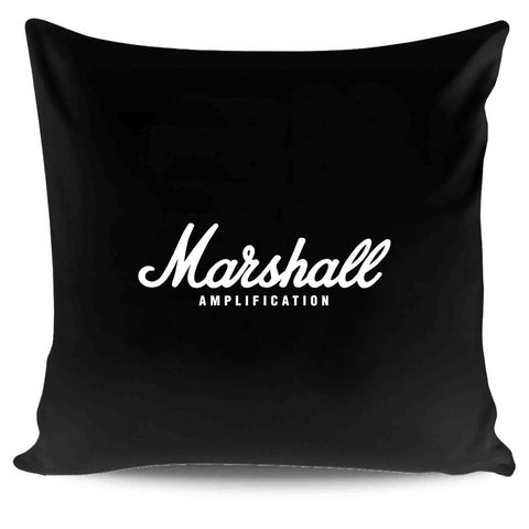 Marshall Amplification Logo Rock Metal Musicians Pillow Case Cover