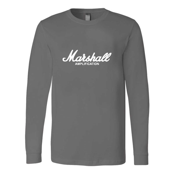 Marshall Amplification Rock Amplifier Les Paul Gibson Guitar Long Sleeve T-Shirt