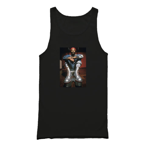 Marvin Gaye Classic Retro Boots Tank Top