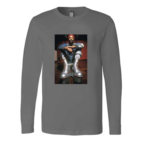 Marvin Gaye Classic Retro Boots Long Sleeve T-Shirt