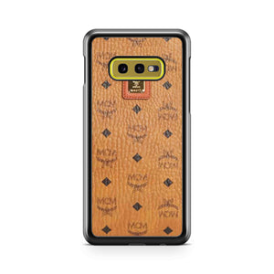 Mcm Vintage Eye Trunk Monogram Reverse Samsung Galaxy S10 Case