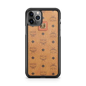 Mcm Vintage Eye Trunk Monogram Reverse iPhone 11 Pro Max Case