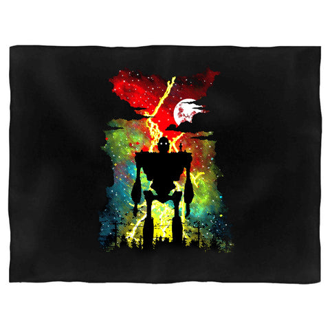 Mechanical Friend The Iron Giant Inspired Robot Popular Culture Animation Movie Film Blanket