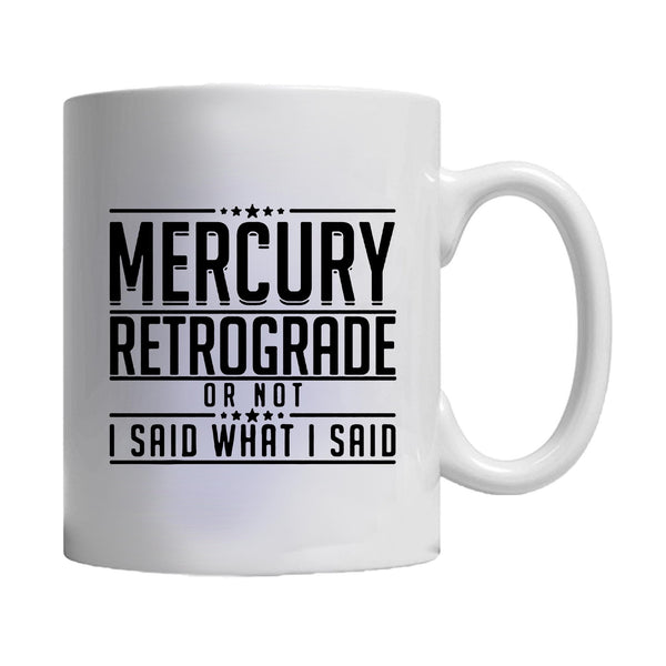 Mercury Rx Retrograde Astrology Metaphysical Specialty Zodiac Mug