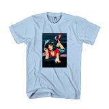 Mia Wallace Pulp Fiction Illustrated Gift Christmas Birthday Man's T-Shirt