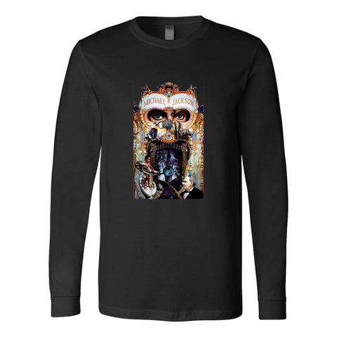Michael Jackson Dangerous Graphic King Of The Pop Long Sleeve T-Shirt