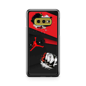 Michael Jordan Air Dunk 23 Samsung Galaxy S10 Case
