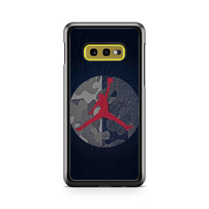 Michael Jordan Air Dunk Camo Samsung Galaxy S10 Case