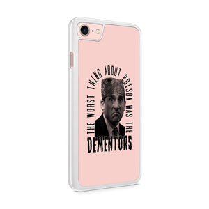 Michael Scott Funny The Office Prison Mike Humor Dementors Dunder Mifflin Paper Company Televsion Show Iphone 8 CasePlus / 5 / 5S / 5C Case