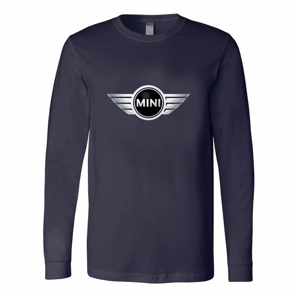 Mini Cooper S Badge 60s Music John Lennon Long Sleeve T-Shirt
