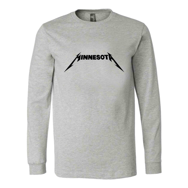 Minnesota Metallica Logo Long Sleeve T-Shirt