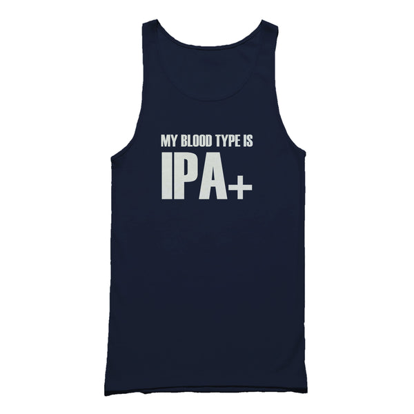 My Blood Type Is Ipa+ Tank Top