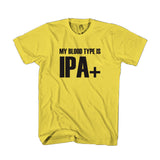 My Blood Type Is Ipa+ Man's T-Shirt
