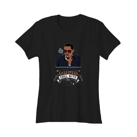 Nas Come Chill With The Virgo Sun Sign Zodiac God's Son Illmatic Nasir Horoscope Women's T-Shirt