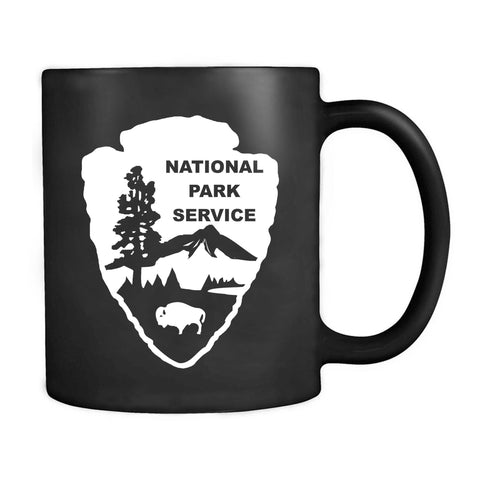 National Park Service Arrowhead Us National Camping Mug