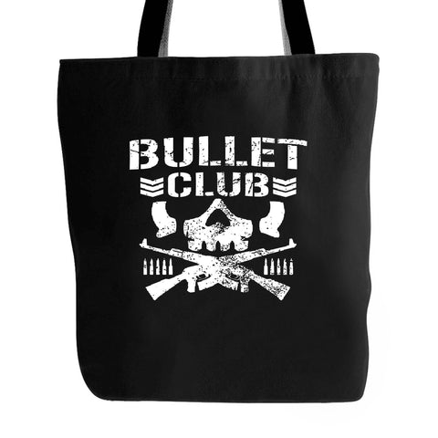 New Japan Pro Wrestling Bullet Club Bone Soldier Wwe Tote Bag