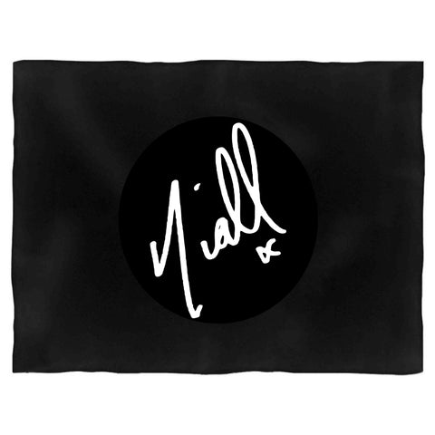 Niall Horan Signature One Direction Gift Ideas Tumblr Blanket