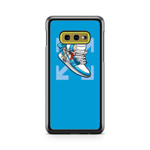 Nike Jordan Force 1 Off White Samsung Galaxy S10 Case