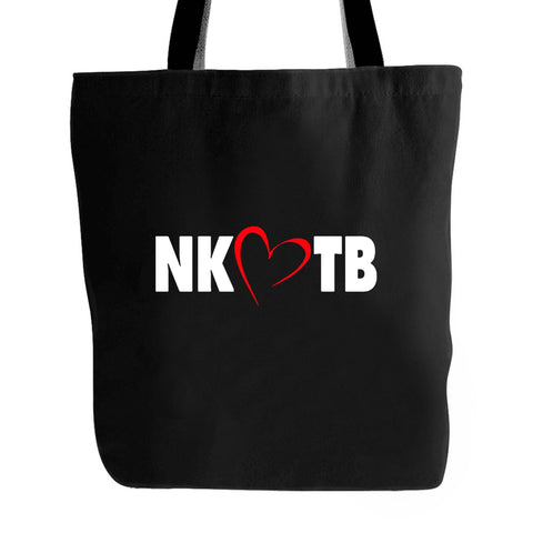 Nkotb Heart Logo Inspired Tote Bag