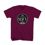 Nofx Punk Rock Band Coaster Cd Man's T-Shirt