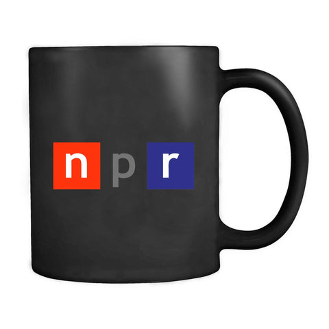 Npr Logo National Public Radio Media United States Mug