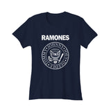 Official The Ramones Band Logo Women's T-Shirt