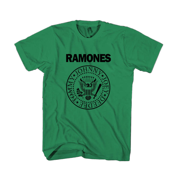 Official The Ramones Band Logo Man's T-Shirt