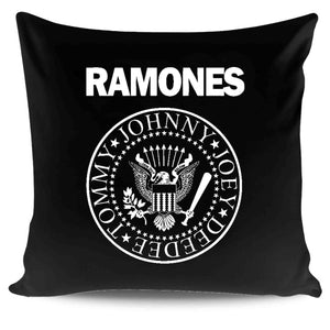 Official The Ramones Band Logo Pillow Case Cover