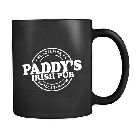 Pins And Bones St Patircks Day Paddy's Irish Pub Philly St Patty's Leprachaun Its Always Sunny Mug